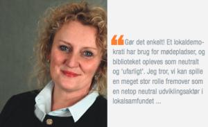 danmarks biblioteker Mariann
