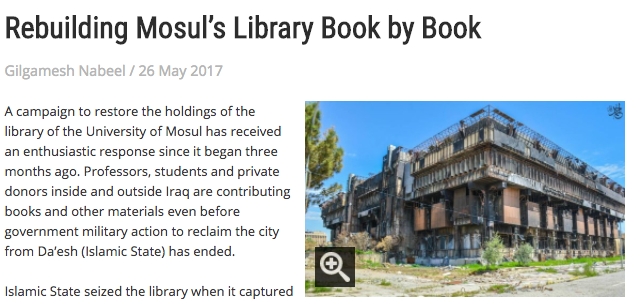 mosul bibliotek
