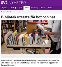 svt hot mot bibliotek